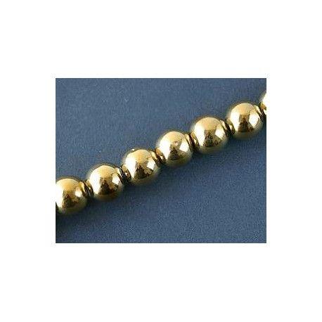 Round 15mm GOLD DORADO x 1 strand