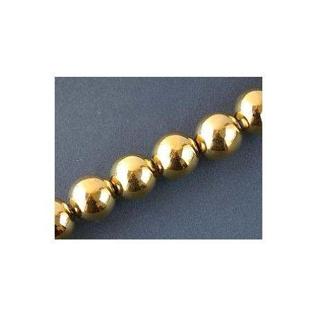Round 20mm GOLD DORADO x 1 strand