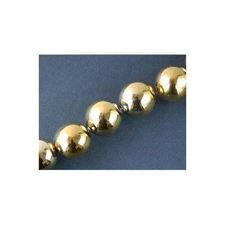 Round 25mm GOLD DORADO x 1 strand