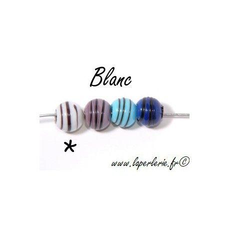 Ronde à spirale BLANC