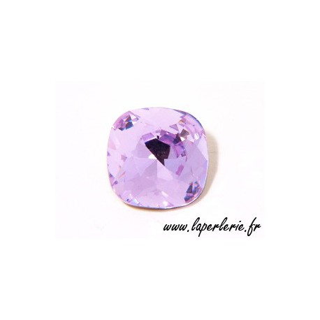 Cabochon carré 4470 12mm VIOLET