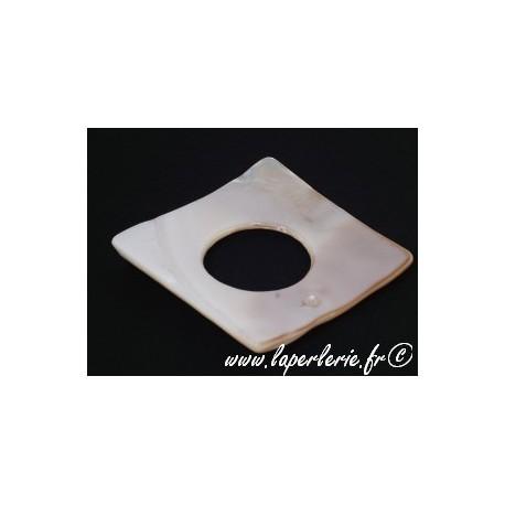 Donut en nacre carré 45mm