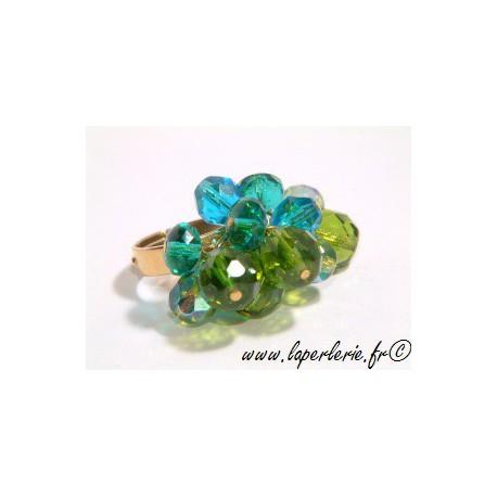 Kit anillo breloque OLIVINE / ZIRCON / AQUAMARINE