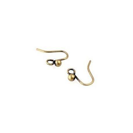 Earrings ball h.12mm LATON x4