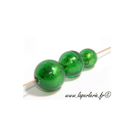 Ronde feuille d'or diam.10mm EMERALD