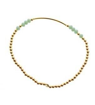 """Bracelet """"Perles d'or"""""""