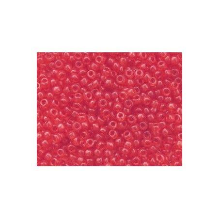 Rocaille Miyuki 8/0 140F Red/Orange Transparent Matte x10g