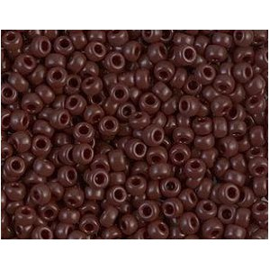 Rocaille Miyuki 8/0 0409 Opaque Chocolate x10g
