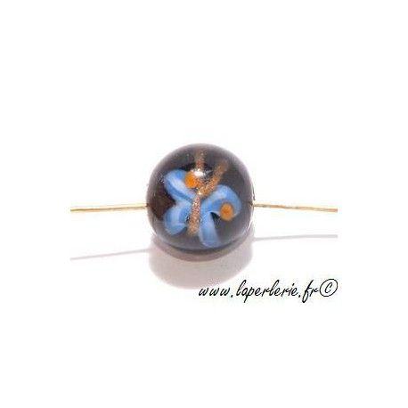 Ronde inclusion papillon 12mm JET