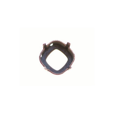 Griffe cabochon 12mm CUIVRE