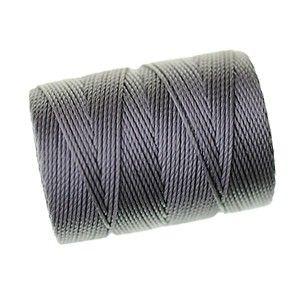 C-LON beading cord macramé ép.0.5mm 78m GRAY