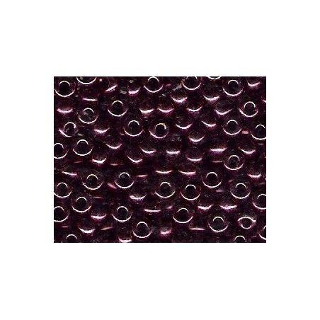Seed beads Miyuki 6/0 460 Dark Wine Metallic x10g