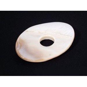 Donut en nacre ovale 50X35mm