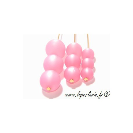 Ronde polaire 8mm ROSE x10