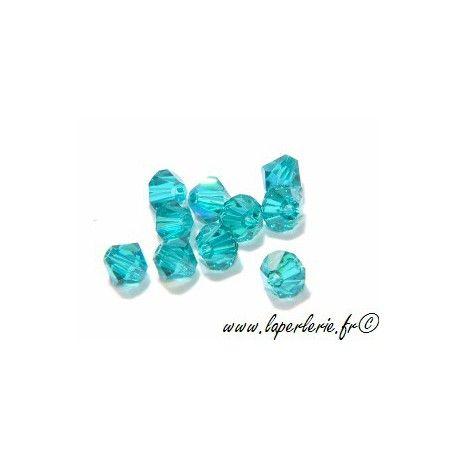 Toupie 5301 4mm BLUE ZIRCON AB x50