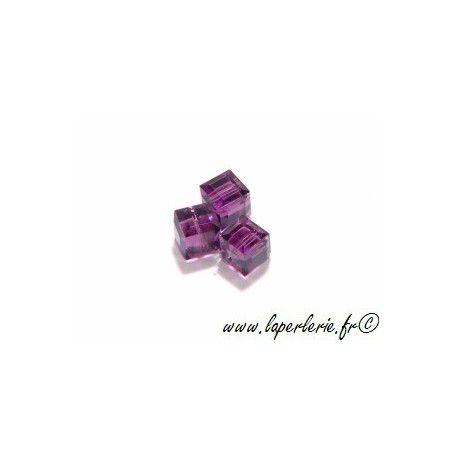 Cube 5601 6mm AMETHYST