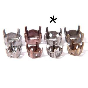 Griffe pour strass pointe diamant 8 mm ETAIN