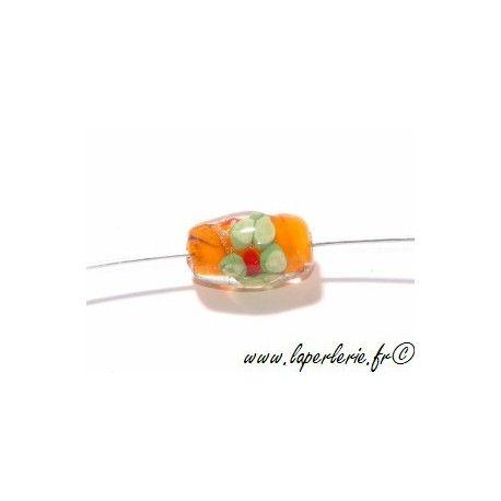 Olive inclusion fleur 16 mm HYACINTH