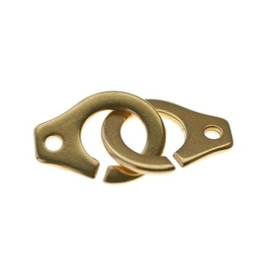 Handcuff clasp 15x12mm GOLD COLOR