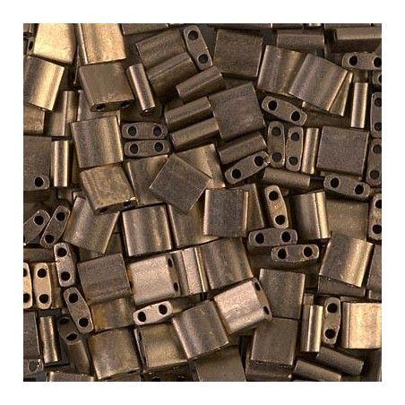 Tila beads 2006 Matte Metallic Dark Bronze x 10g
