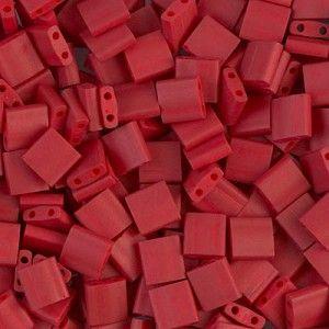 Tila 2040 Matte Metallic Brick Red x 10g