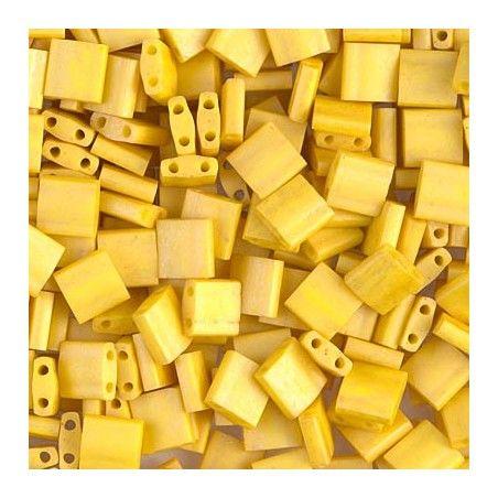 Tila beads 2311 Matte Opaque Canary x 10g