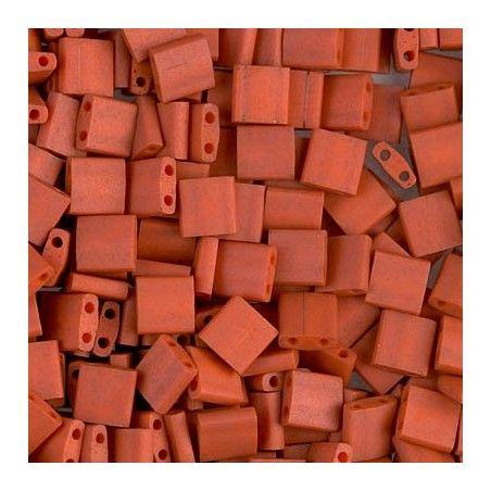 Tila beads 2315 Matte Opaque Terra Cotta x 10g