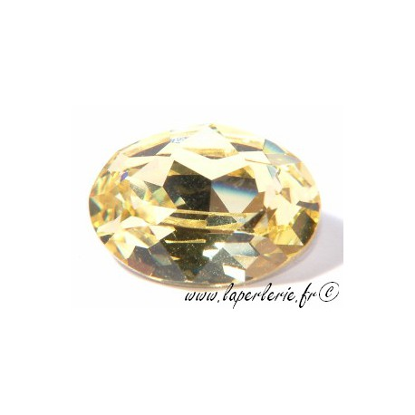 Cabochon ovale 4120 18X13mm JONQUIL