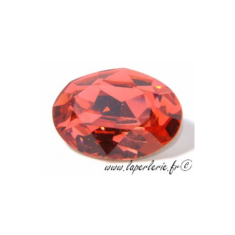 Cabochon ovale 4120 18X13mm PADPARADSCHA
