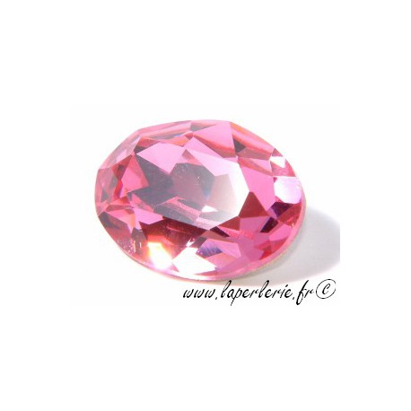 Cabochon oval 4120 18X13mm ROSE