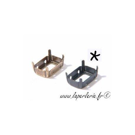 Griffe pour cabochon rectangle 10X14mm ETAIN