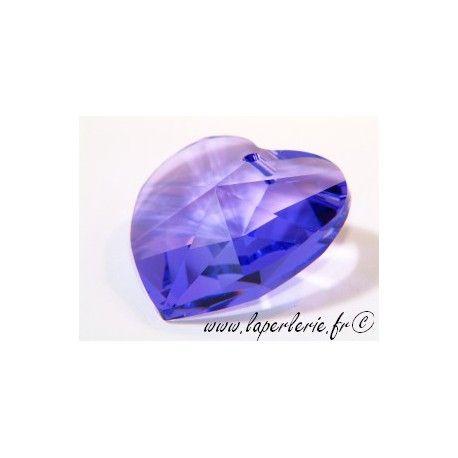Heart 6202 28mm BLUE VIOLET