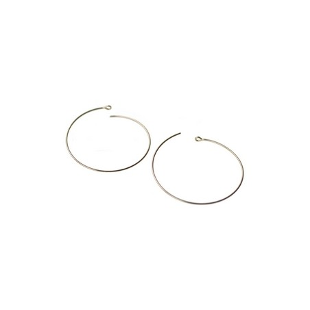 Hoop Earrings 30mm GOLD FILLED 14cts x2