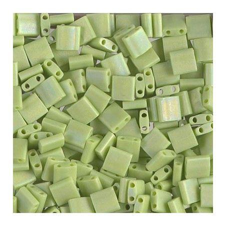 Tila beads 416FR Matte Opaque Chartreuse ABx 10g