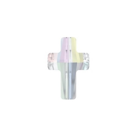 Cross bead 5378 14mm CRYSTAL AB