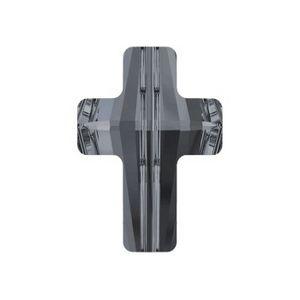 Cross bead 5378 14mm CRYSTAL SILVER NIGHT