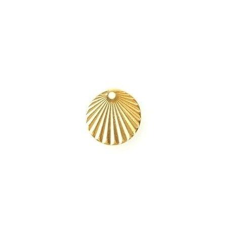 Charm Sunbeam 15.70mm GOLD COLOR x1