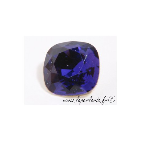 Square cabochon 4470 12mm PURPLE VELVET