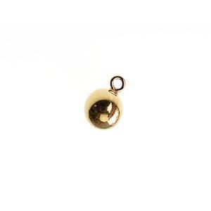 Charm ball 5 mm Gold Filled 14 kts  x1