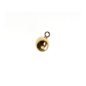 Charm ball 4 mm Gold Filled 14 kts  x1