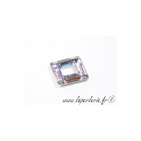 Square hollowed 4439 14mm CRYSTAL VITRAIL