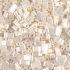 Half Tila 592 Antique Ivory Pearl Ceylon x 7.5g