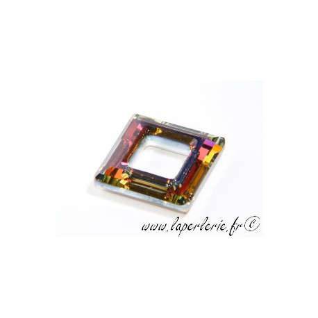 Square hollowed 4439 20mm CRYSTAL VOLCANO