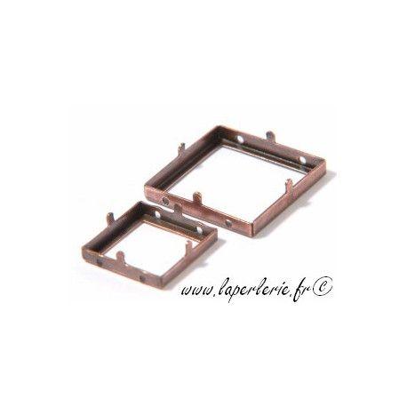 Griffe pour carré évidé 20mm CUIVRE
