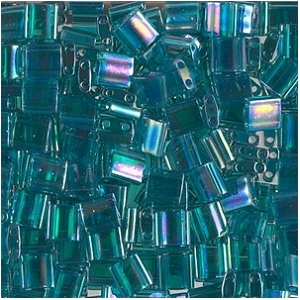 Tila 2458 Teal Transparent AB x 10g