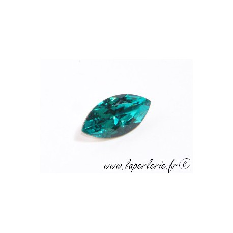 Navette baroque (plus taillée) 4231 10X5mm BLUE ZIRCON
