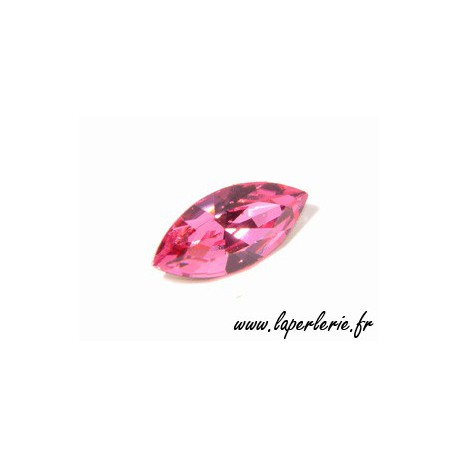 Navette cabochon 4200 15x7mm ROSE