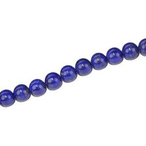 Round 4mm LAPIS LAZULI x1 strand of 40cm