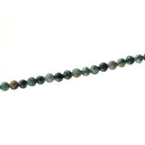 Round 4mm African Turquoise Jasper x1 strand of 40cm