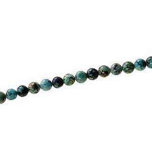 Round 6mm African Turquoise Jasper x1 strand of 40cm